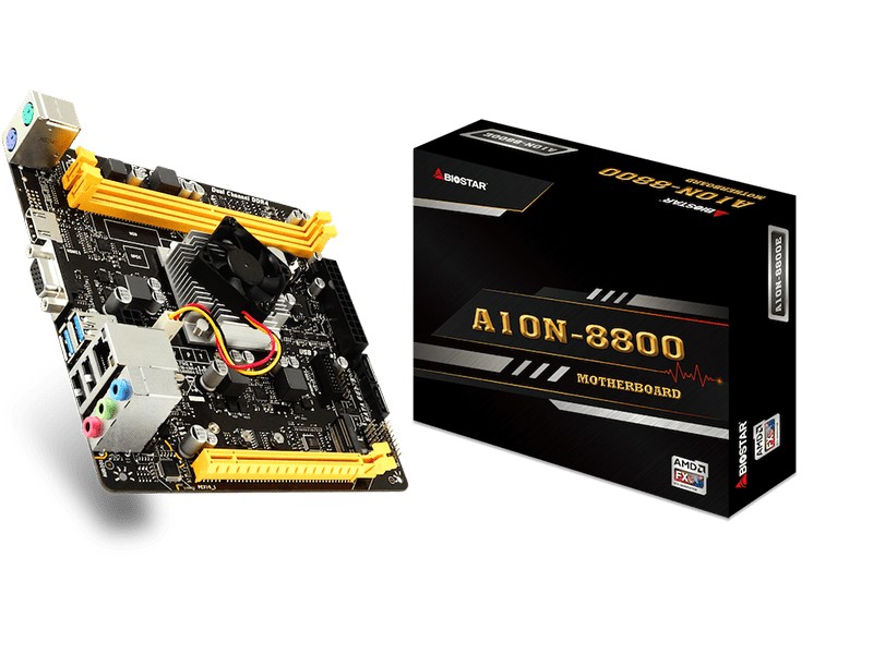 Nueva placa base Mini-ITX Biostar A10N-8800E