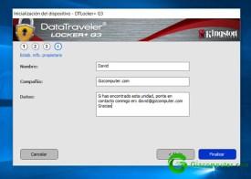 Kingston DT Locker+ G3