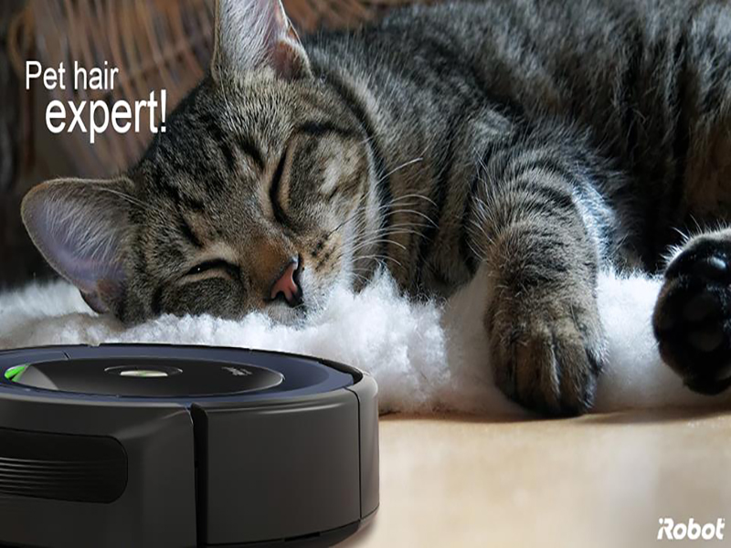 Roomba 606, limpia toda tu casa con solo pulsar un botón.