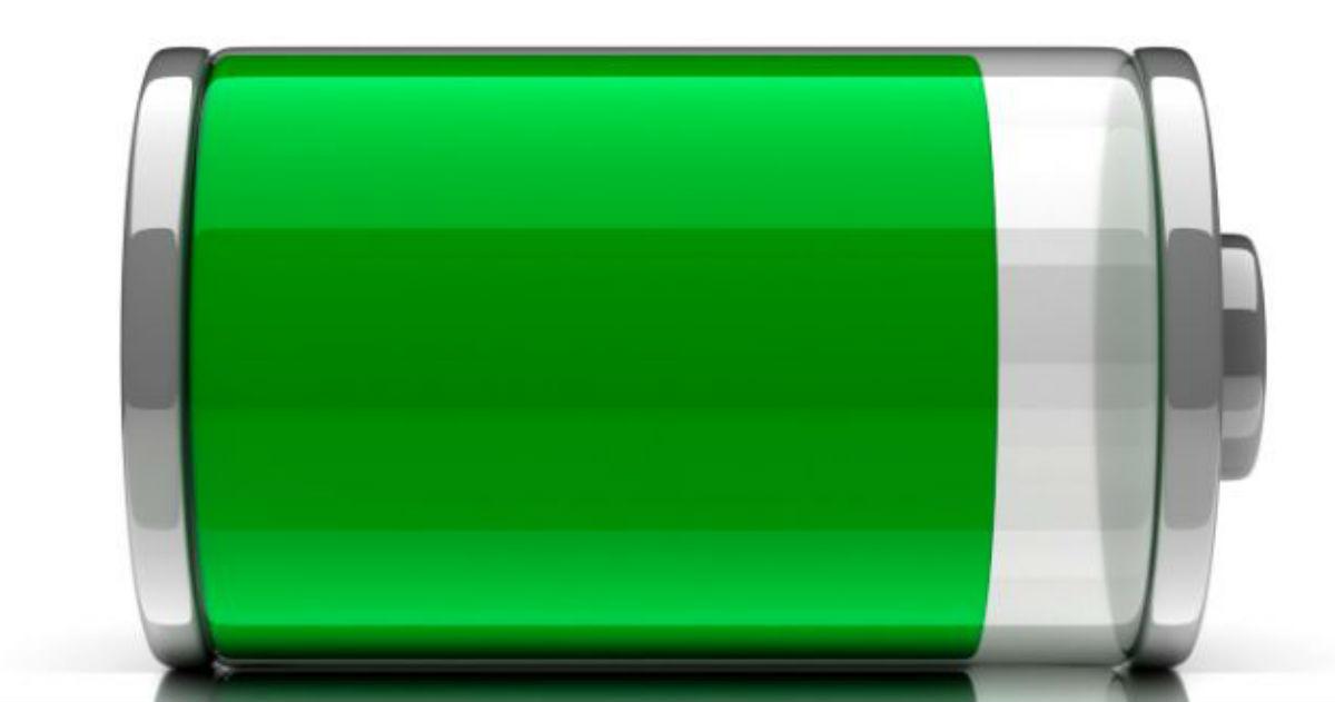 Batería de aluminio para cargar el móvil en un minuto