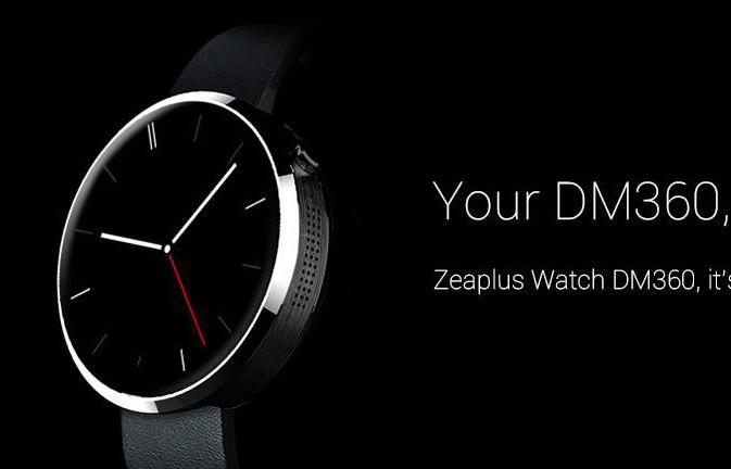 Zeaplus Watch DM360, la copia barata del Moto 360