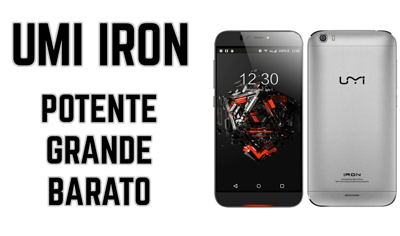 UMI Iron: Un móvil grande, potente y muy barato.