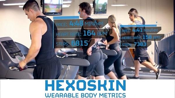 Hexoskin, una camiseta que mide tu salud