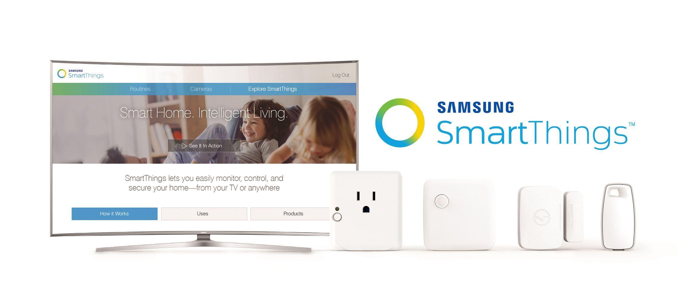 SmartThings Extend para controlar todo desde la tele