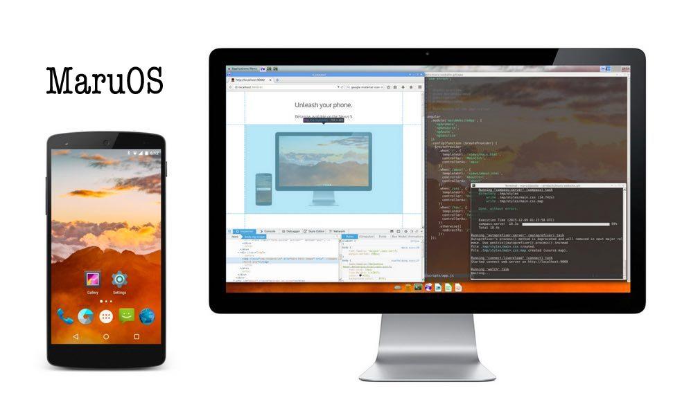 Maru OS convierte tu móvil en un ordenador