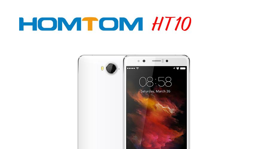 HomTom HT10: un terminal con desbloqueo por iris. (Actualizado)