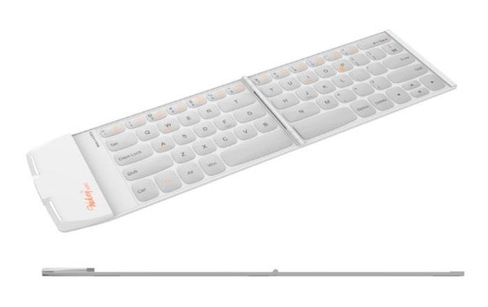 Wekey Pocket el teclado más fino y ligero del mundo