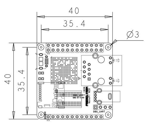 nanopi neo  un pc de 40x40mm por ocho dolares