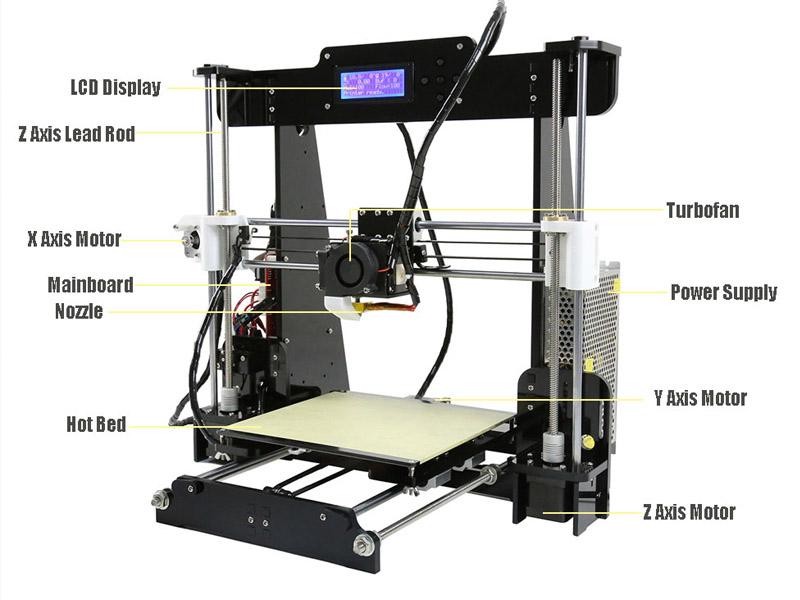 Impresora 3d a8 la impresi n 3d llega a casa for Videos de impresoras 3d