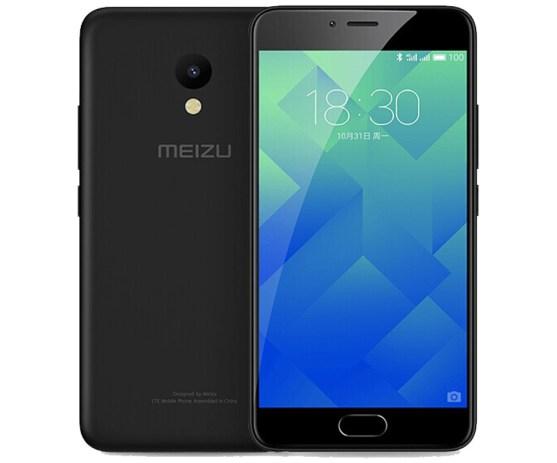 Meizu M5 versión en color negro