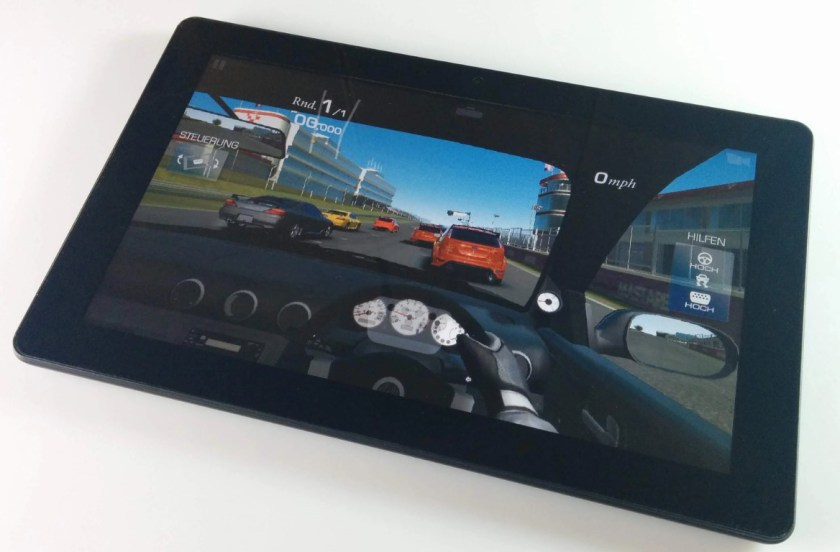 Dragon touch x10 Real racing
