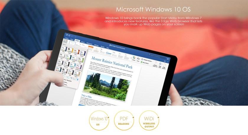 Teclast x89 Windows 10 Home