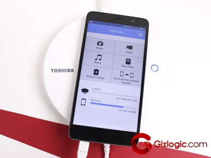 Toshiba Canvio for Smartphone