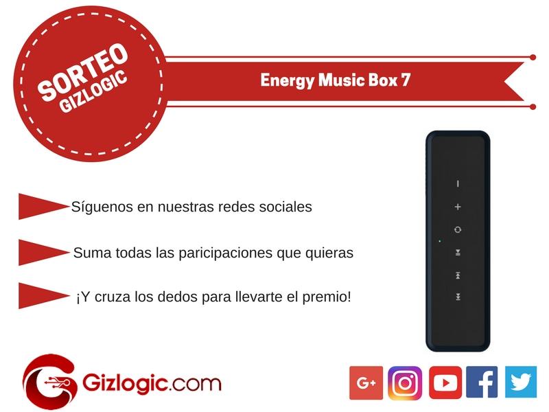 SORTEO: Energy Music Box 7, ¿lo quieres? [FINALIZADO]