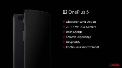 caracteristicas oneplus 5