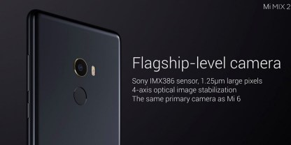 Xiaomi Mi Mix 2 camara