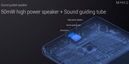 Xiaomi Mi Mix 2 sonido