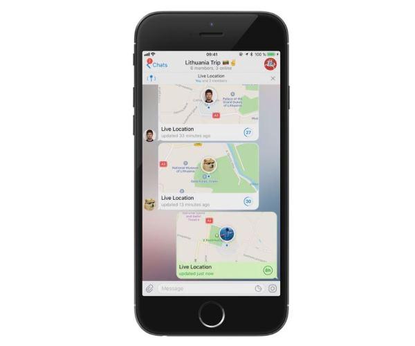 Telegram 4 4 ubicacion