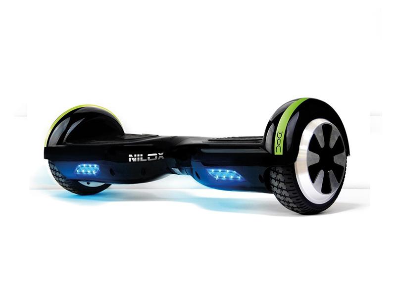 Nilox Doc Hoverboard 6.5, altavoces bluetooth y rueda de 6,5 pulgadas