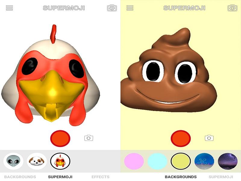 Supermoji, la copia para Android de los Animoji