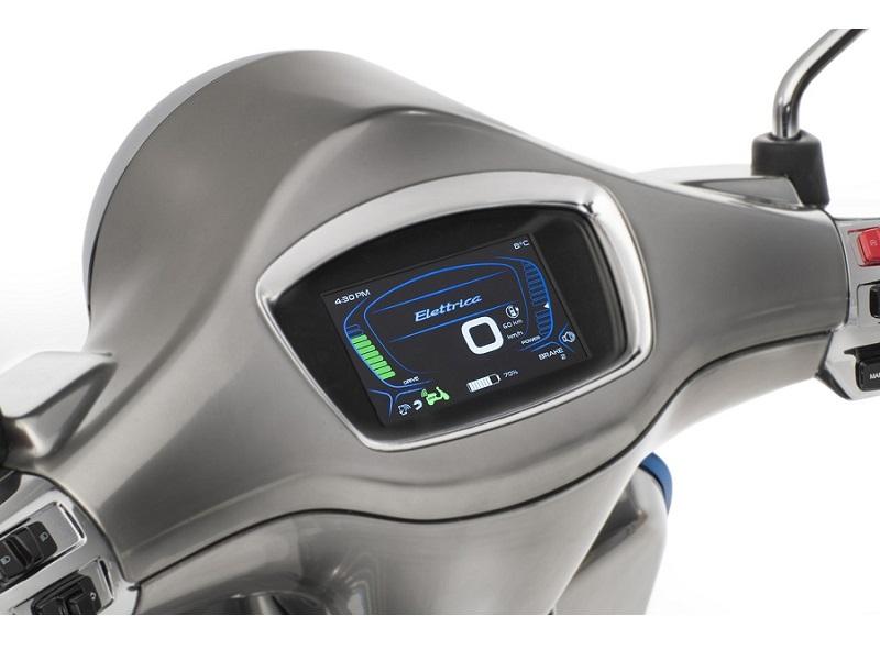 Vespa Elettrica, así será la nueva moto eléctrica de Vespa