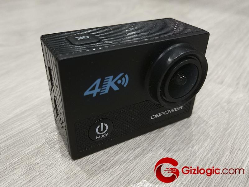 DBPower N5 4K, test de esta cámara deportiva 4K