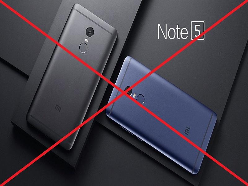 Redmi Note 5, el terminal de Xiaomi que no verá la luz