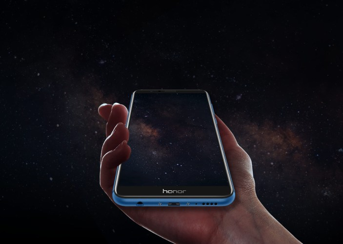 Honor 7X pantalla