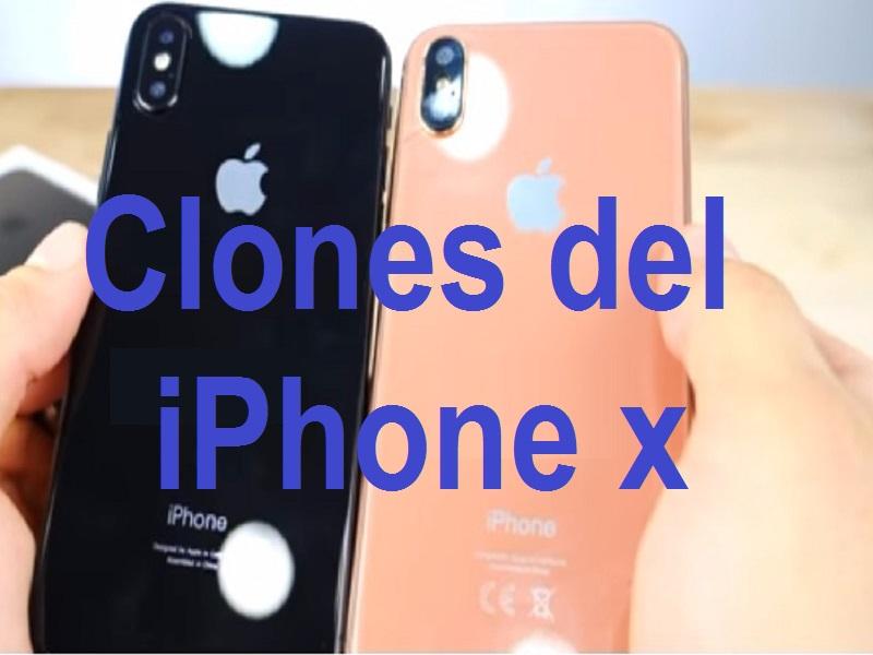Clones del IPhone X para todos los bolsillos habidos y por haber