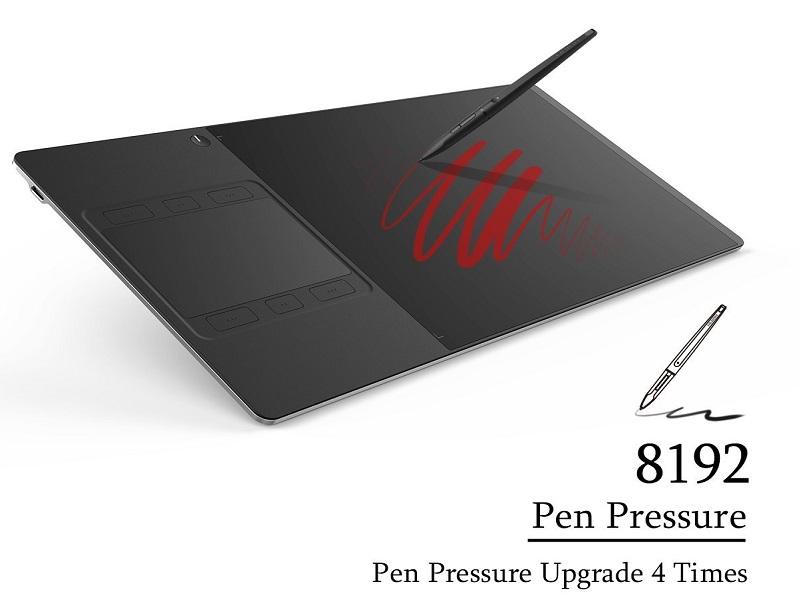 Huion INSPIROY G10T, la tableta gráfica de bordes ultra delgados