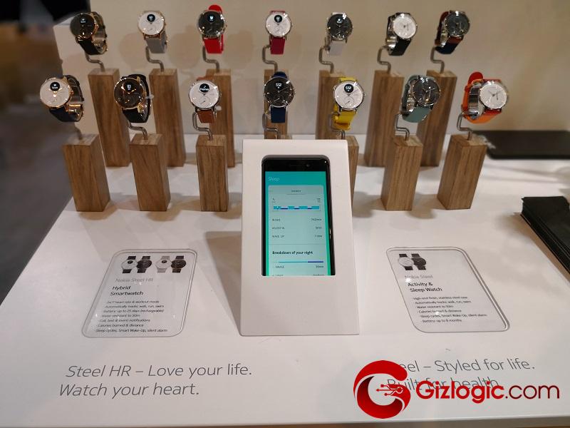 #MWC18: Nokia Steel HR, un elegante smartwatch que destaca por su gran autonomía