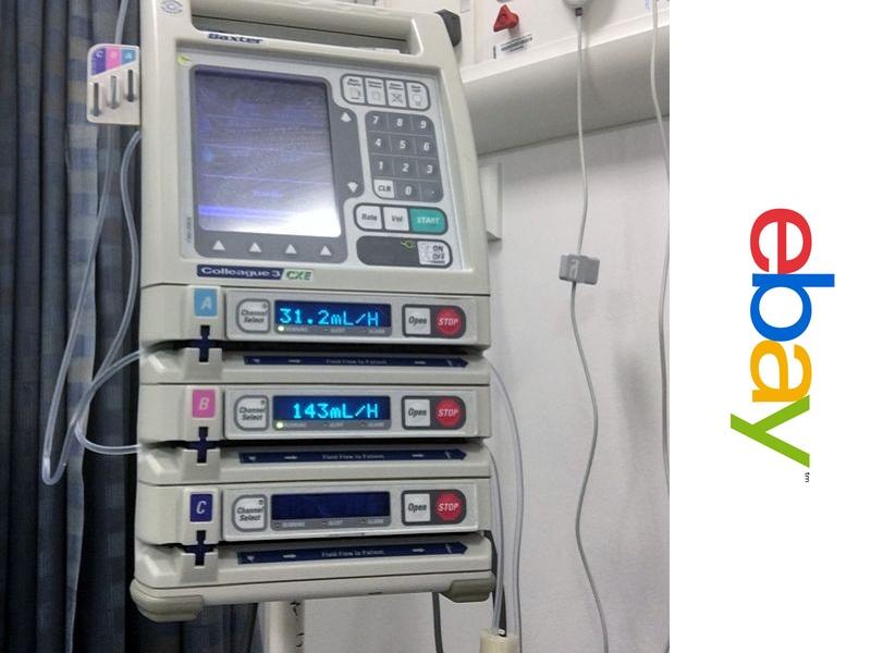 Este paciente compró su propia máquina de quimioterapia… en eBay