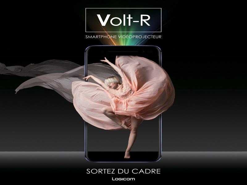 Logicom Volt-R, un smartphone con proyector incorporado