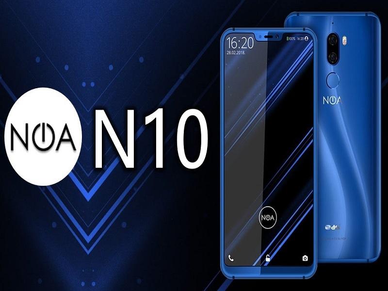 """Noa N10, otro smartphone con """"notch"""" incorporado"""