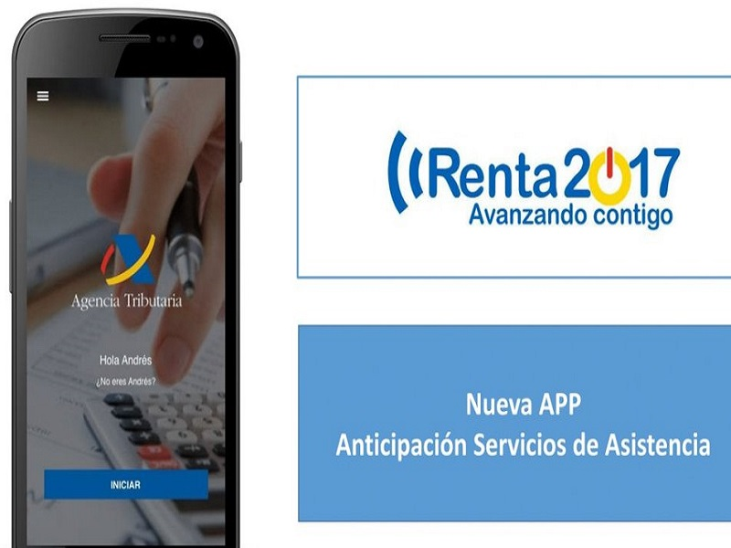 App de la Agencia Tributaria para hacer la declaración de la Renta