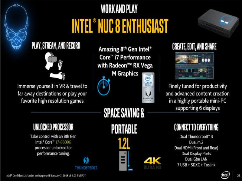 Intel Nuc 8 VR, una verdadera hormiga atómica