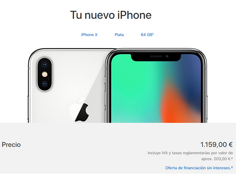 El iPhone insignia de Apple para 2018 costaría más que el iPhone X