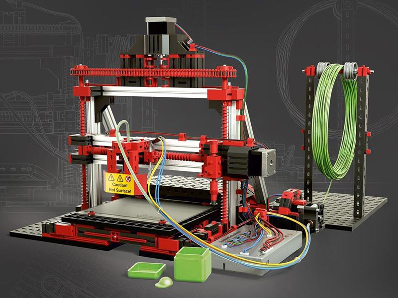Impresora 3D Fischertechnik, diseñada para aprender, ¿vale la pena?