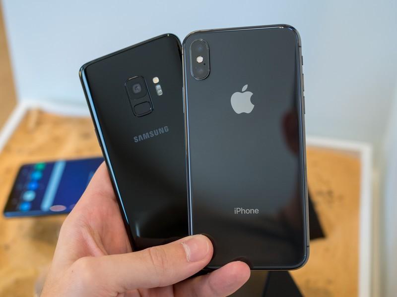 Apple y Samsung, se reaviva el juicio por infracción de patentes del iPhone - Galaxy S9 Vs iPhone X