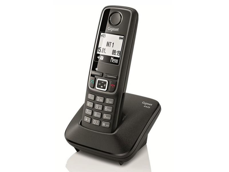 Gigaset A420, conoce las características de este teléfono inalámbrico