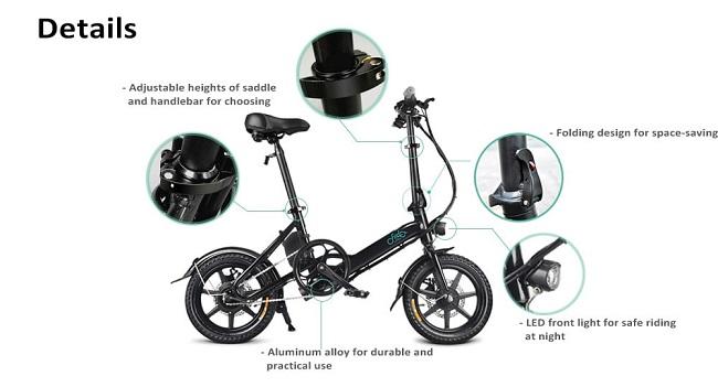 Fiido D3, una bicicleta eléctrica con mucha elegancia
