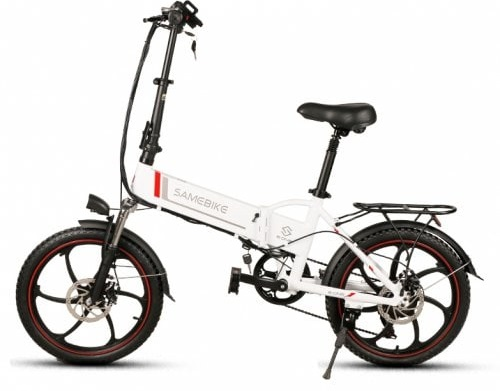 Samebike 20LVXD30, detalles de una bicicleta eléctrica