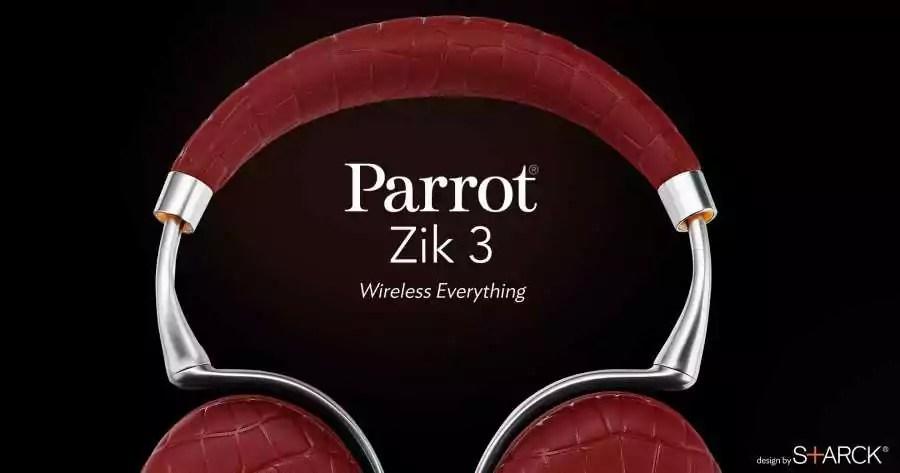 Parrot Zik 3 Le Nouveau Casque à Recharge Sans Fil