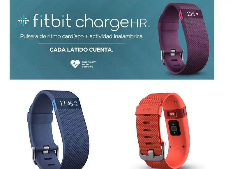 Montre connectée Fitbit-Charge-HR
