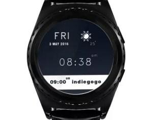 Voici la montre connectée SmartWatch No.1 S5