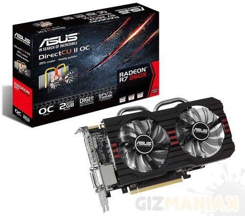 ASUS Radeon R7 260X DirectCU II OC