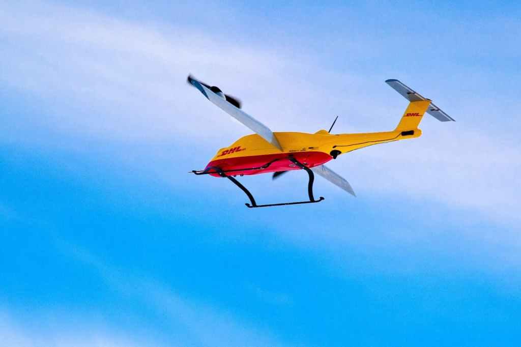 Parcelcopter w akcji /fot. DHL