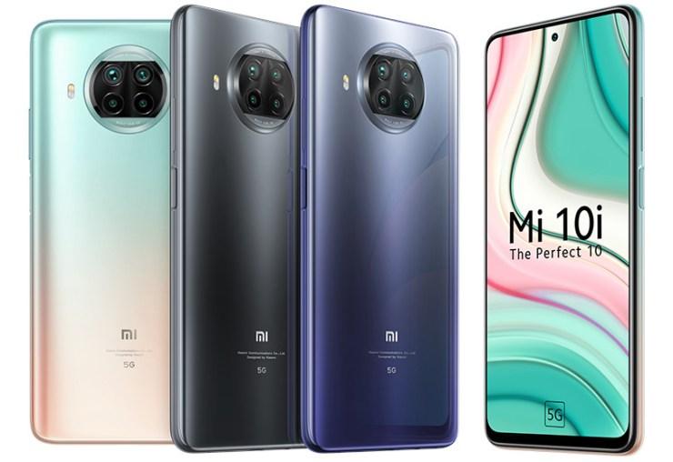 Xiaomi Mi 10i 5G colours