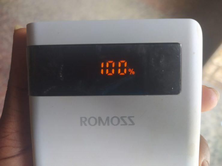 Romoss sense 8p+