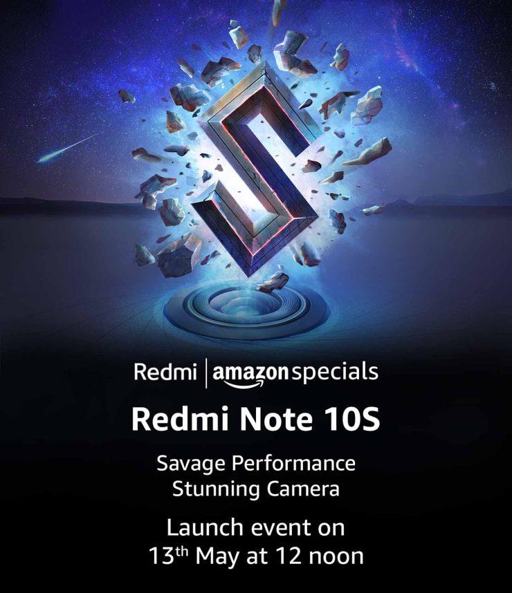 Redmi Note 10s Amazon Live Page
